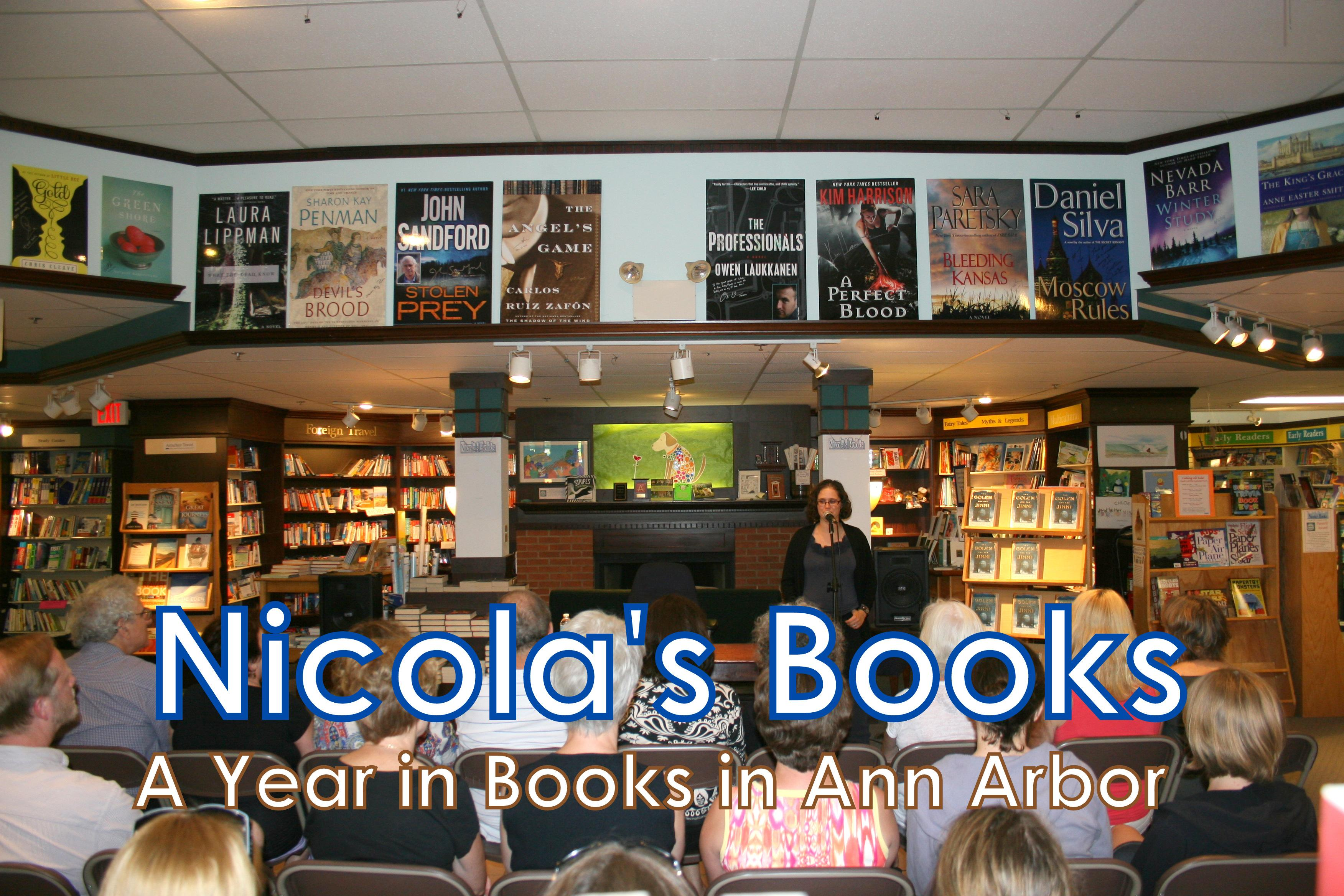 Nicola's Books - A Year in Books in Ann Arbor Calendar